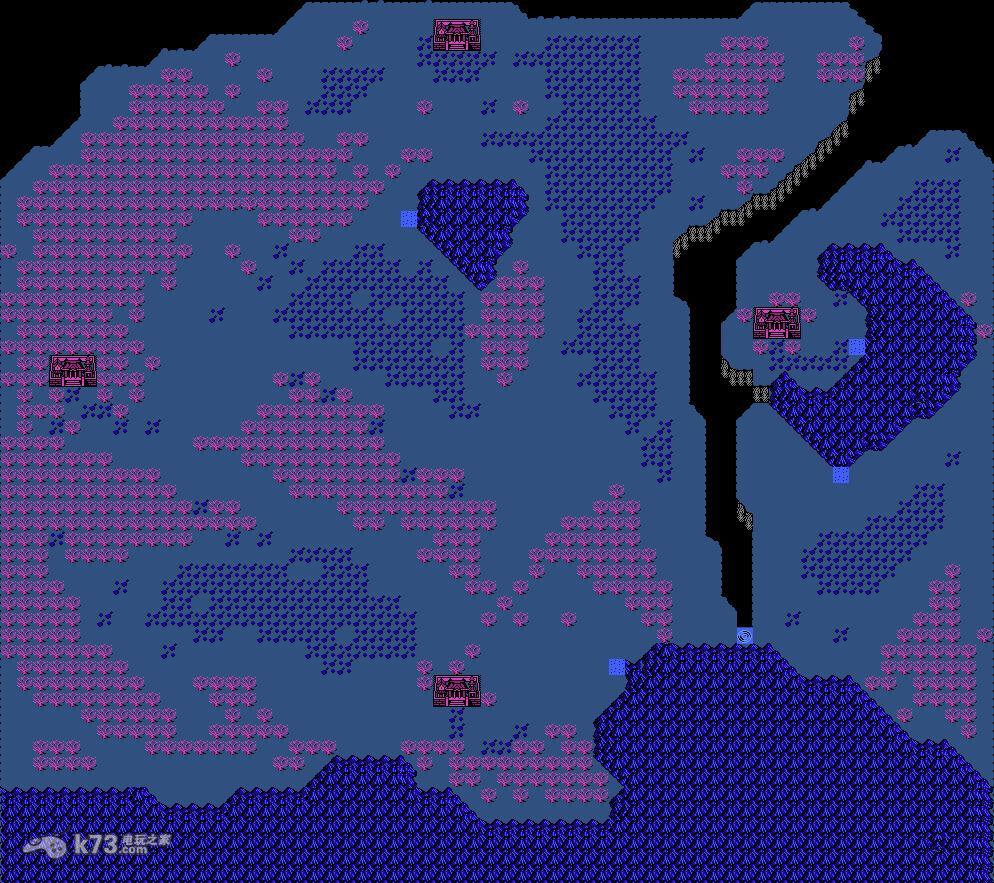 fc封神榜伏魔三太子全世界地图【地点标明】