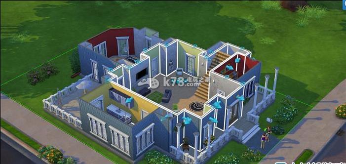 模拟人生4房屋设计布局参考图