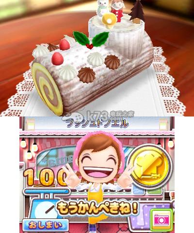 可爱的漂亮的蛋糕,帕菲等等,靠这些甜点玩家可以经营甜品店吸引客人来